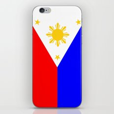 Philippines country flag iPhone & iPod Skin