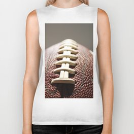 Football Season, American Sports, Pigskin Biker Tank