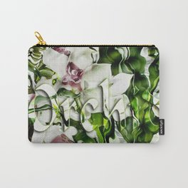 Liquid Orchid by Artist McKenzie http://www.McKenzieArtStudio.com Carry-All Pouch