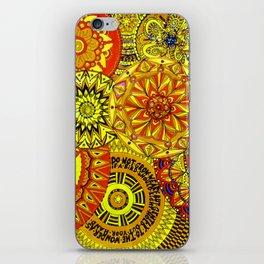 Mandala Life-explosion iPhone Skin