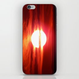 Fireball Above the Saint-Lawrence iPhone Skin