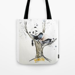 Panda in the Tree Tote Bag