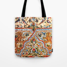 old motives / colorful / Armenian  Tote Bag