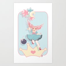 Small Lady Art Print