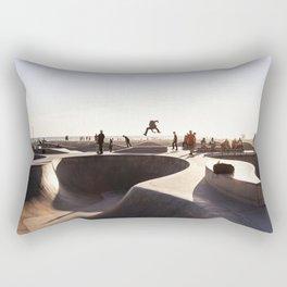 Venice Skate Park Rectangular Pillow