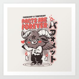Pacts Are Forever Art Print