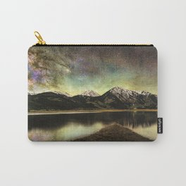 Milky way over twin lakes Carry-All Pouch