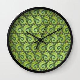 Summer's Bounty Wall Clock