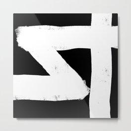 Nikko Abstract Series - Light Line 4 Metal Print