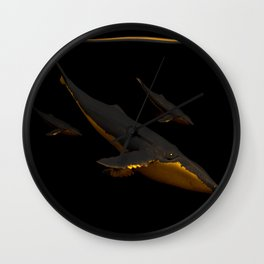 Bond III Wall Clock