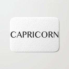 Capricorn {Astrology Zodiac Sign} Bath Mat