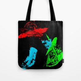 Dog Doodle Chinese Tote Bag
