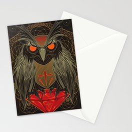 If you seek for diamonds and shiny stuff just look into owls eyes  Stationery Cards