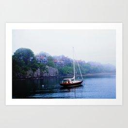Afternoon Mist Art Print