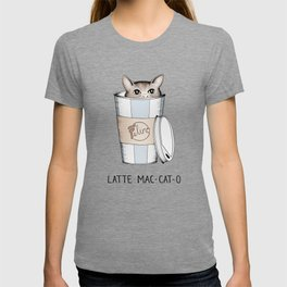 Latte Mac-cat-o T-shirt