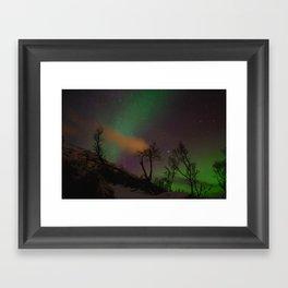 Norway lights 3 Framed Art Print