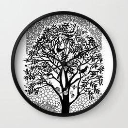 NOT just a Tree Wall Clock