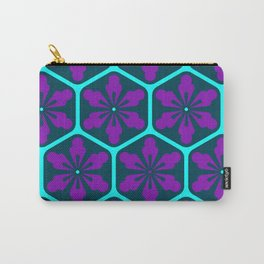 Japanese Cyberpunk Aesthetic Pattern Carry-All Pouch