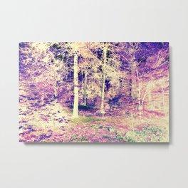 Lavender Forest Metal Print
