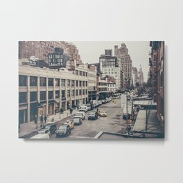 Tough Streets - NYC Metal Print