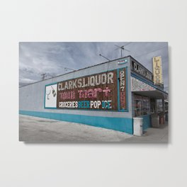 Liquor Store Hawthorne Metal Print