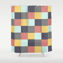 Pure Vintage palette  Shower Curtain