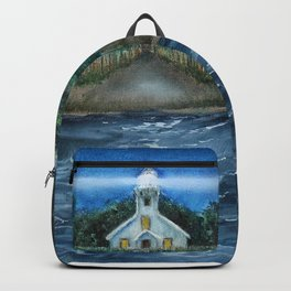 Mission Point Lighthouse Backpack
