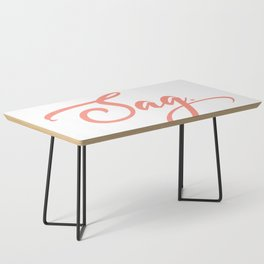 Sag Coffee Table