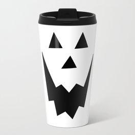 Jack O'Lantern Face Travel Mug