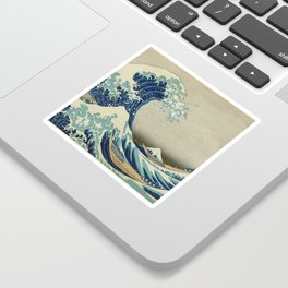 The Great Wave off Kanagawa Sticker