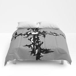 CROSS IN GREY Comforters