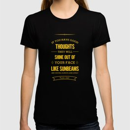 Roald Dahl quote - Yellow T-shirt