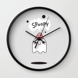 Spoopy Ghost Wall Clock
