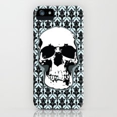 Skull Print Slim Case iPhone (5, 5s)