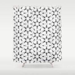 Ant Lace Shower Curtain