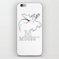 Moose 2 3D iPhone & iPod Skin