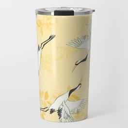 bird pattern Travel Mug
