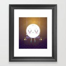 Little Moon Framed Art Print