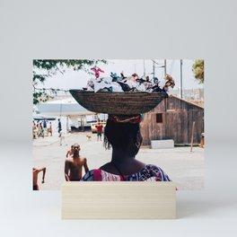 Lady | Africa Series | Sal Culture Photography Mini Art Print