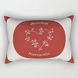 Deadlift Romantic Rectangular Pillow