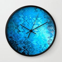 Edged Momentum (blue) Wall Clock