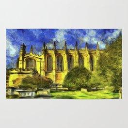 Eton College Chapel Vincent Van Gogh Rug