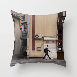 NODAHANSHIN, OSAKA Throw Pillow
