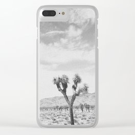JOSHUA TREE III Clear iPhone Case