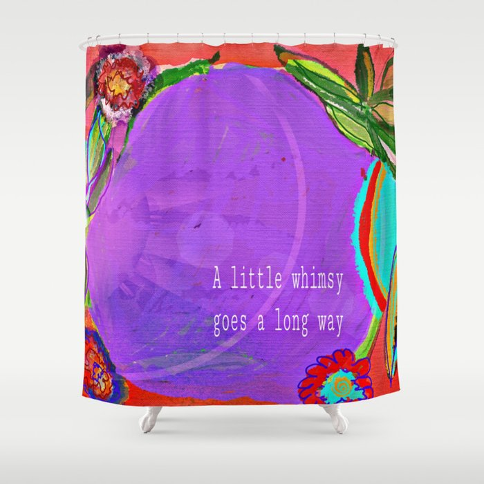A little whimsy Shower Curtain