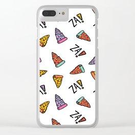 Cam loves za! Clear iPhone Case