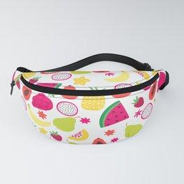 Tutti Frutti Summer Fruit Pattern Fanny Pack
