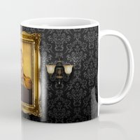 neil gaiman Mugs featuring Neil Armstrong - replaceface by replaceface