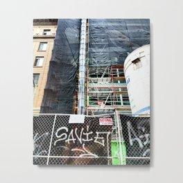Oakland Graffitti Art Metal Print