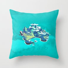 Disney's Peter Pan Neverland Throw Pillow
